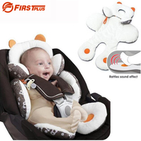 Winter And Summer Seat Pad Cover For Baby Stroller And Car Baby Seat Car Support Cushion