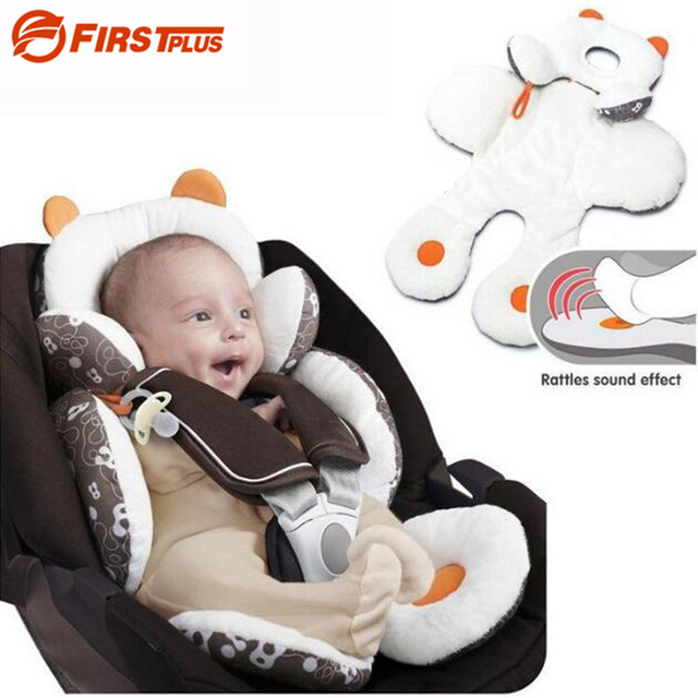 Soft Car Baby Seat Body Head Support Cushion Supporting Sofa Winter Warm Stroller Mat Child Newborn