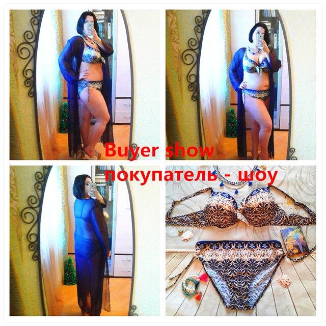 Plus Size Brazilian Push Up Bikini Set 5