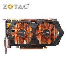 100% Оригинальные ZOTAC видеокарта GeForce GTX 660 2 ГБ GPU 192Bit GDDR5 Графика карты для nVIDIA Map GTX660 2GD5 GK106 Hdmi Dvi