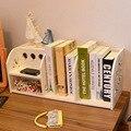 Белый резной многофункциональный офисный стол рабочего творческий книжная полка стеллажи включения SJ007 для хранения