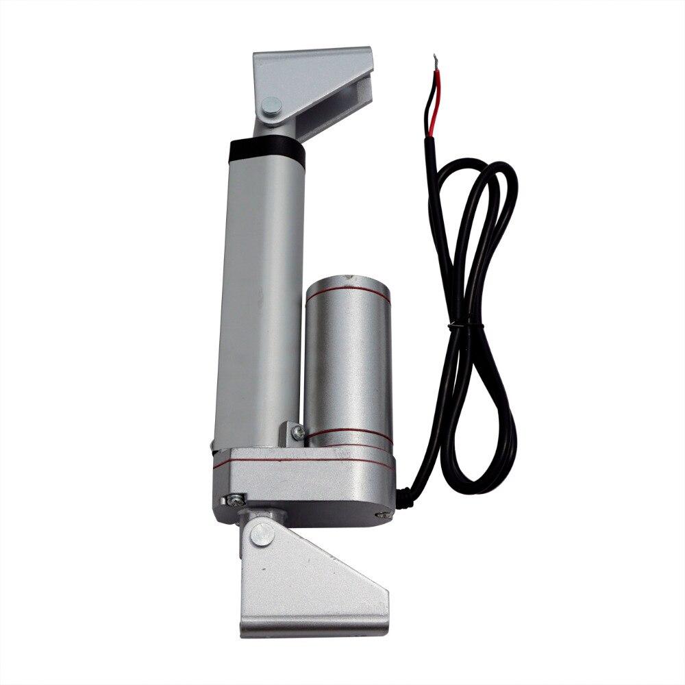 FC 100 мм ход 12 В DC 5.7 мм/сек. 1500N = 150 кг нагрузки скорость мини-линейный привод Электрический Линейный трубчатые мотор Motion