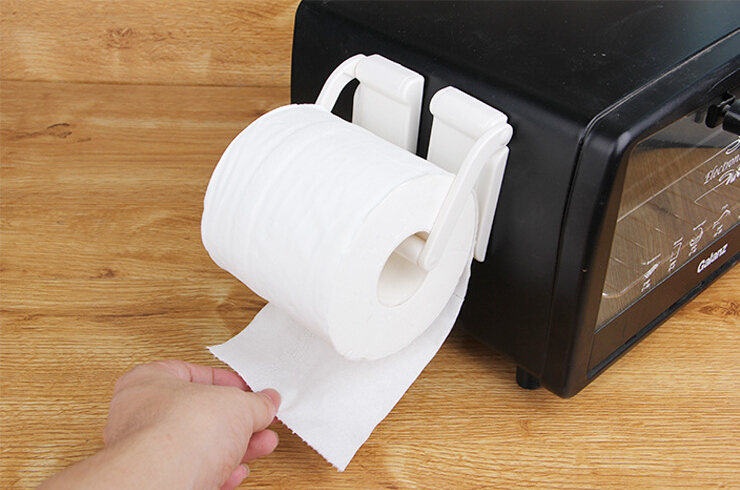 Magnetic Paper Towel Bathroom Hold Holders Kitchen Towel Rolling Tissue Rack  Roll Holder Magnet Wall Mounted  In Storage Holders U0026 Racks From Home U0026  Garden ...