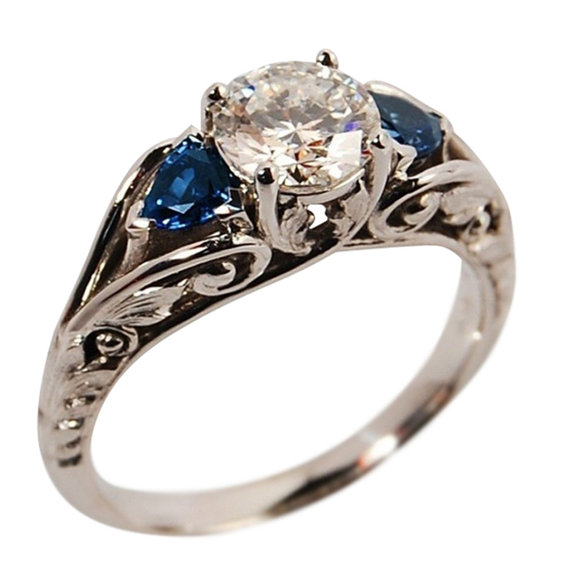 Ring Classic Style Rings For Women Engagement  Wedding Band Jewelry New