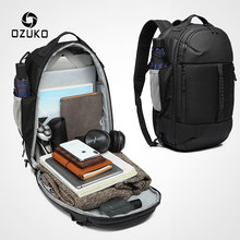 OZUKO 2019 New Multifunctional Men Backpack 15.6 inch Laptop Bag Male Waterproof Large Capacity Backpacks Travel Bags Mochila(China)