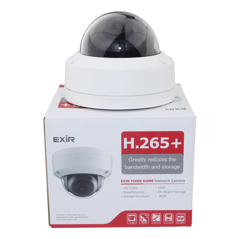 8mp caméra ip cctv vidéo surveillance de sécurité PoE DS-2CD2185FWD-IS Audio pour hikvision dahua DVR HIK-Connecter iVM4200 Caméscope