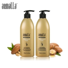 500ml Professional Natural Armalla Hair Treatment Damaged Dry Argan Oil Shampoo and 500ml Deep Conditioner For Hair Care