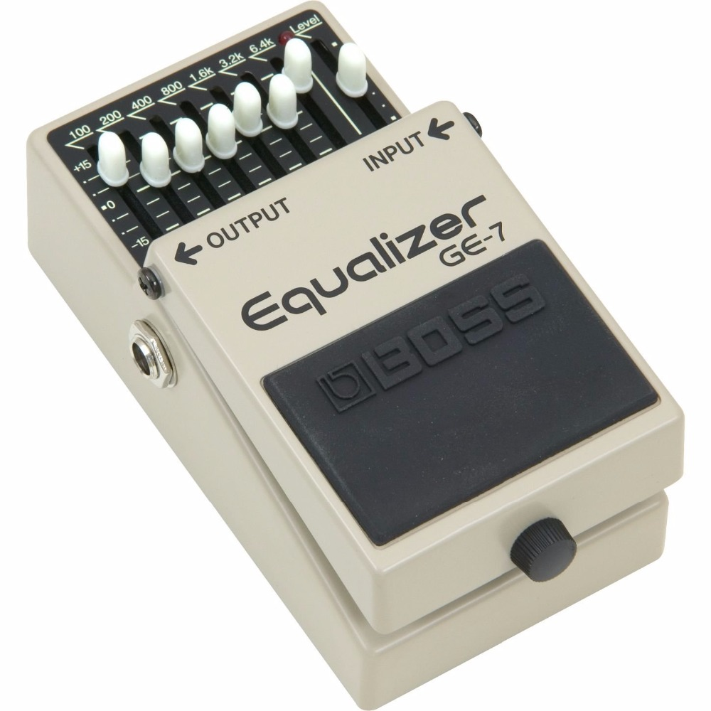 Boss Audio GE-7 7-Band EQ Pedal, 7-band EQ Guitar Stompbox Pedal усилитель boss audio ce102