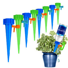 1/2/4/6/8/12PC Gardening Drip Irrigation Watering System Supplies Automatic Adjustable Device for Plants Flower Dropship(China)