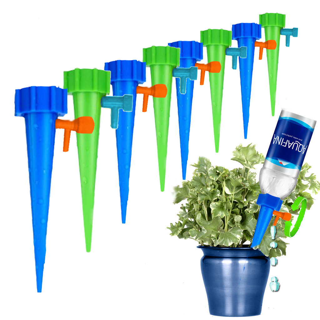 2-16PCS Garden Supply Automatic Watering Adjustable Drips Irrigations Device LOT