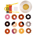 Baby Simulation Cookies Gifts Kids Donuts Stack Up Play Educational Toys Brand
