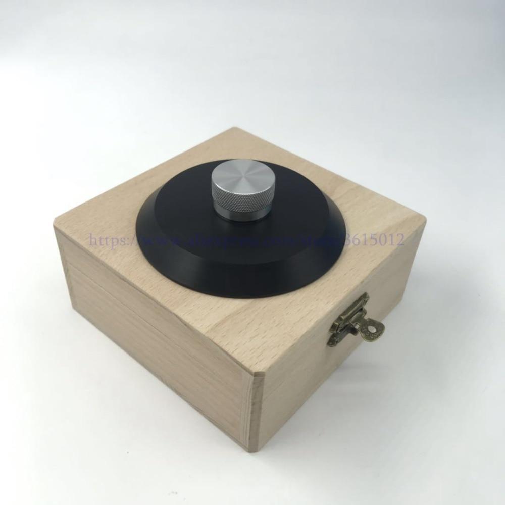 Deluxe Hohe-ende Pom Material Lp Vinyl Plattenspieler Disc Stabilisator Rekord Gewicht/clamp Freies Verschiffen Tragbares Audio & Video