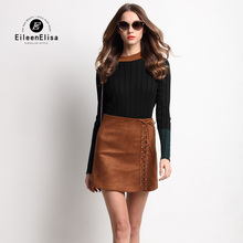 Sexy Women Dress Set Suits EE Women Sweater Sets Long Skirt Crop Top