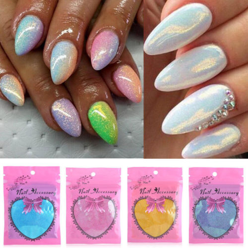 Diy Magic Nail Art Coloring Device : Glitter Powder Dust Magic Glimmer Nail  Art Decoration Diy
