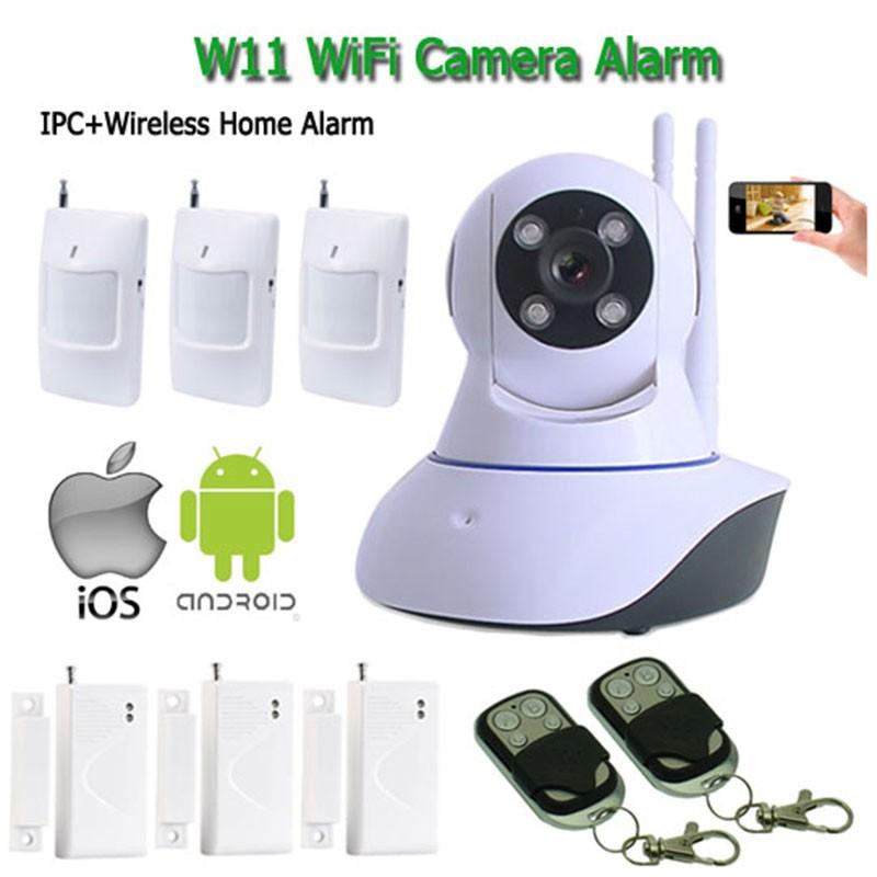 W11H wifi camera alarm
