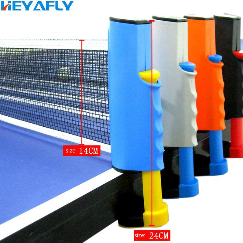 Free Delivery Portable Table Tennis Net Rack Telescopic Net Post Table Tennis Net Frame Retractable Net Frame Competition Train