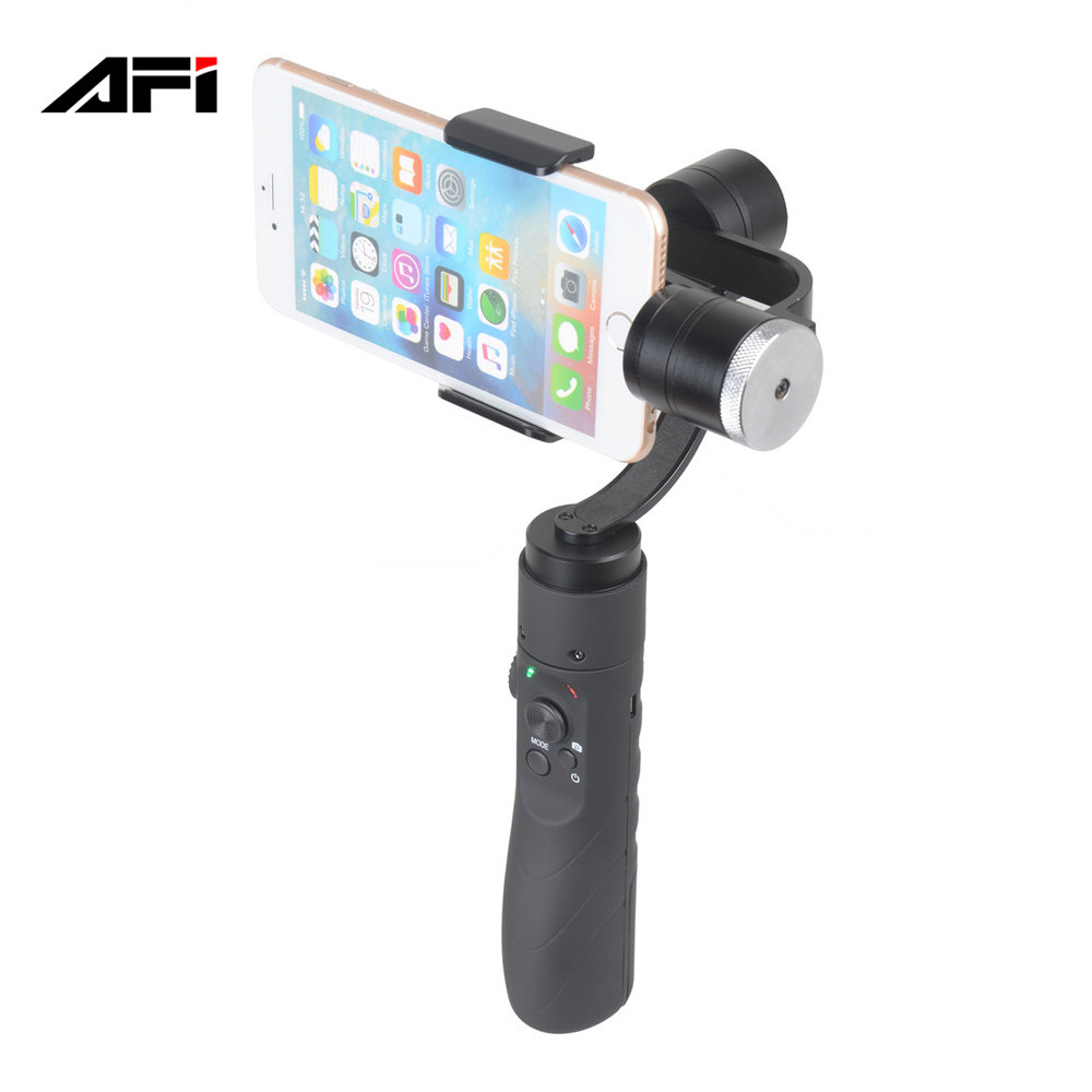 china supplier AFI V3 handheld 3 axis gimbal font b smartphone b font mobile phone stabilizer