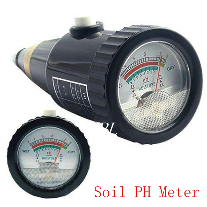 Portable Plant Soil PH Level Moisture pH Meter 1-8% pH 3-8 Soil Plant Flower Crop Hydroponics Agriculture pH&Moisture Analyzer new 4 in 1 plant soil ph moisture light soil meter thermometer soil survey instrument ph value sunlight tester hot wholesale