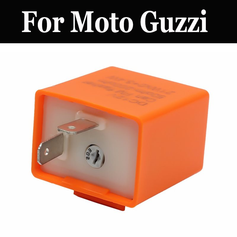 Adjustable Frequency Led Flasher Relay Motorcycle Signal For Moto Guzzi 1200 Sport 4v California 1400 Griso Norge Gt Stelvio <font><b>8v</b></font> image