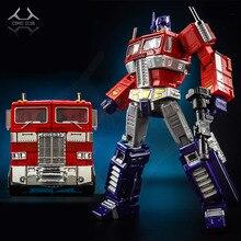 Comic club kbb transformação op commander mp10v, vermelho, preto, branco, liga de metal com mochila, figura de ação, robô, brinquedos