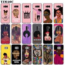 YIMAOC 2bunz Melanin Poppin Aba Afro Girls thin Soft Phone Case for