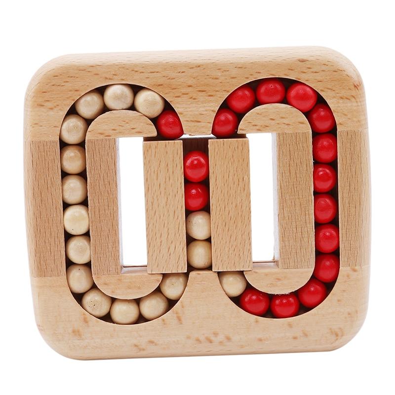 Bloqueo magia de juguete de inteligencia cerraduras Luban vieja China Ancestral cerraduras tradicionales de madera rompecabezas juguetes educativos