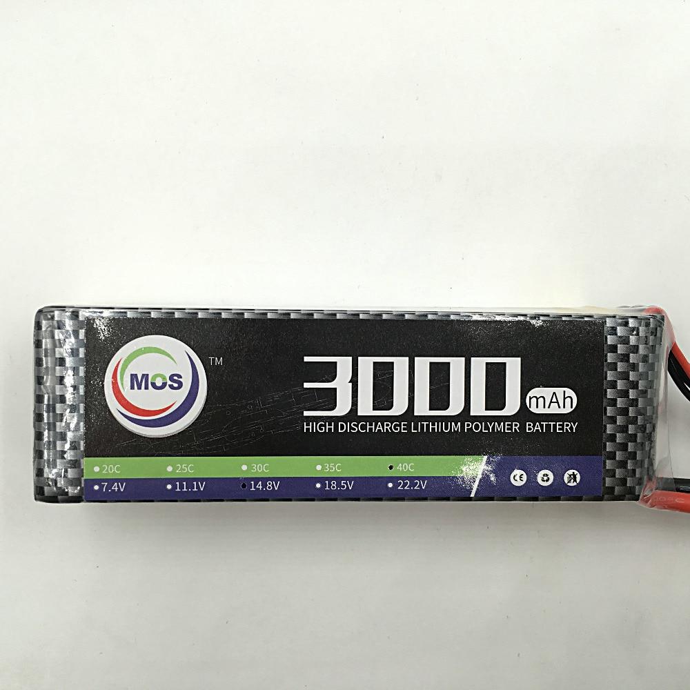 MOS 3S lipo battery 11.1v 3000mAh 30C For rc airplane free shipping 2pcs package mos 3s lipo battery 11 1v 1300mah 35c for rc airplane free shipping