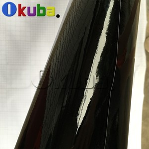 Image 2 - Filme vinílico para embrulho de carro, super brilhante, preto, envoltório brilhante, rolo brilhante, à prova d água, estilo de carro, vinil, 1.52*30m/rolo de rolo