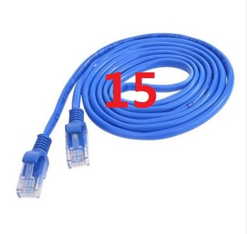 15 # laoke 2018 кабель высокого Скорость 1000 м RJ45 CAT6 сети Ethernet плоский кабель LAN UTP Патч-маршрутизатор Кабели