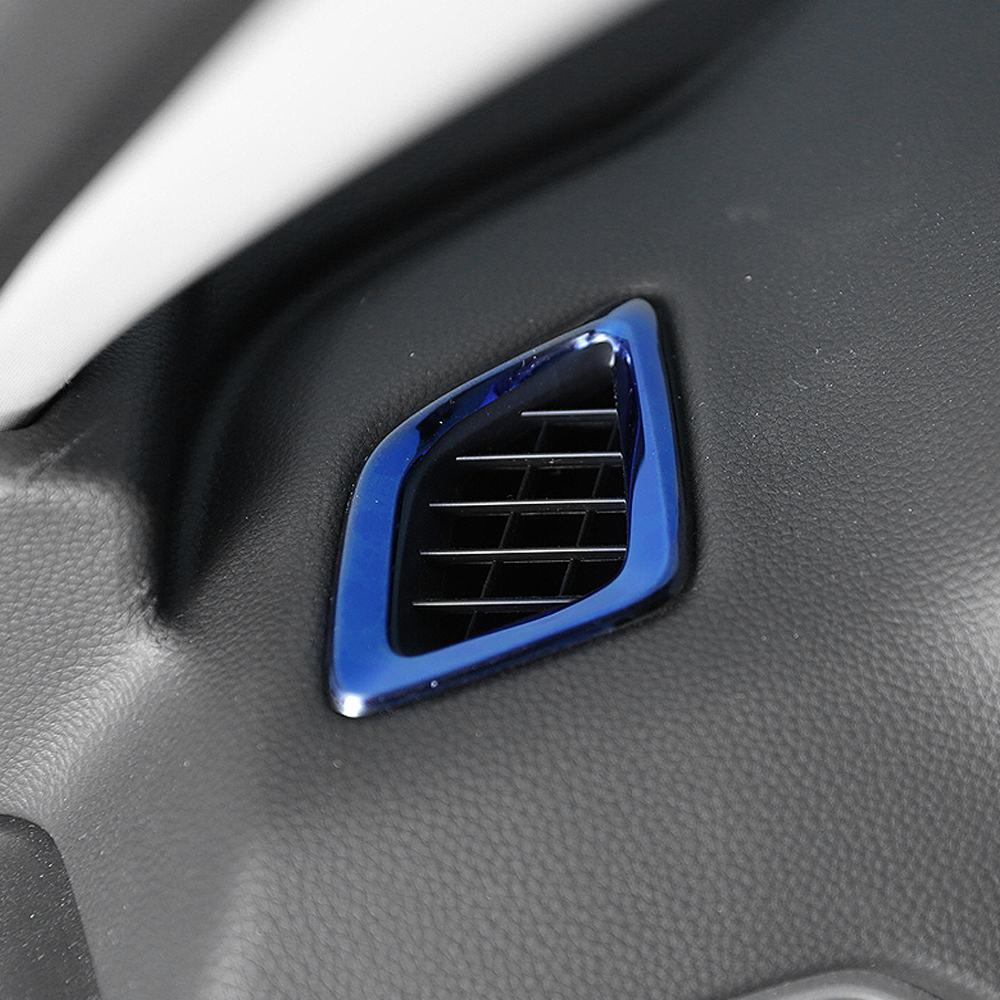 Auto Car-styling Front Dashboard Vent Frame Trim Cover Interior Accessories for Honda Accord 2018