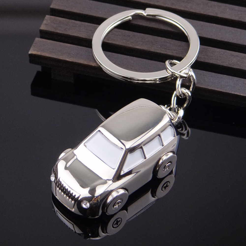 Jeep car shape Key Chain solid...