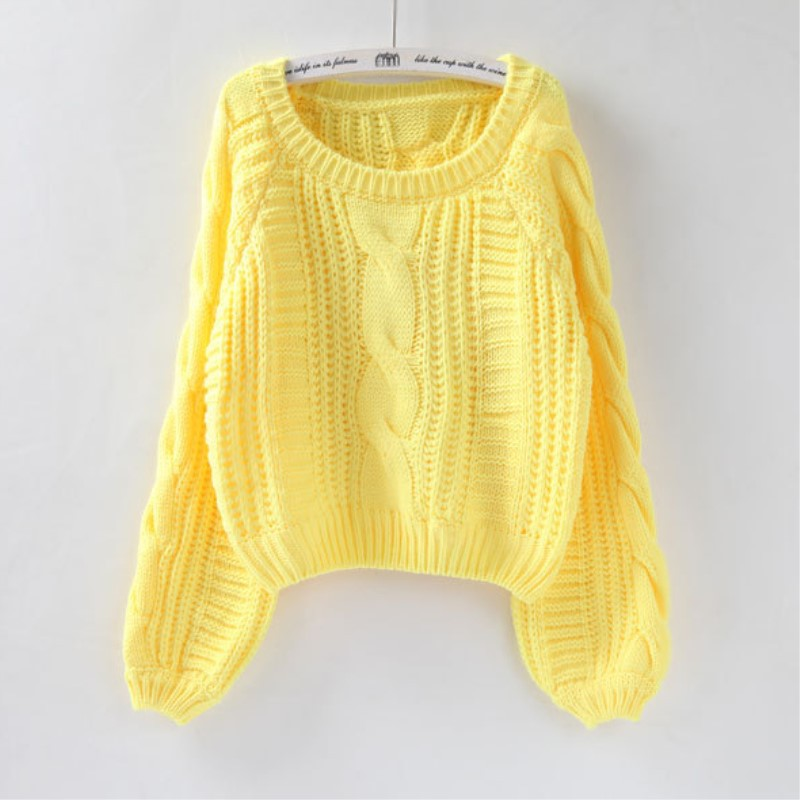 Women Sweaters Warm Pullover and Jumpers Crewneck Mohair Pullover Twist Pull Jumpers Autumn 2020 Knitted Sweaters Christmas