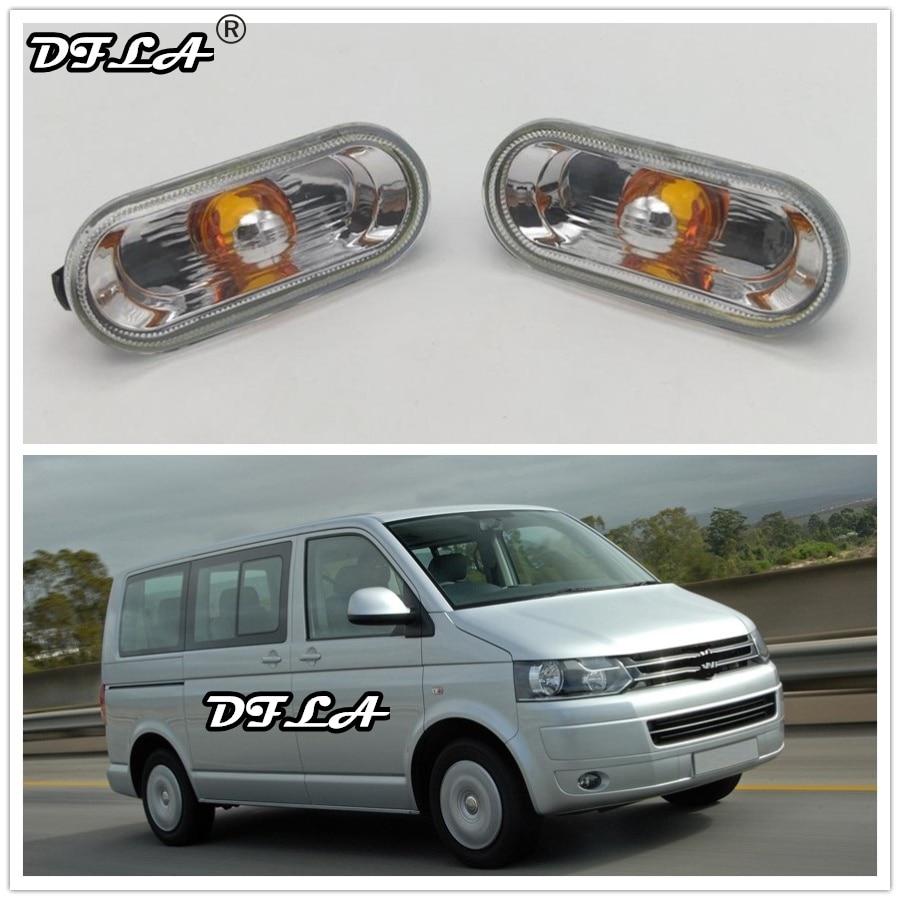 2 шт. для VW Transporter T5 T6 Multivan 2010 2011 2012 2013 2014 2015 автомобильный Стайлинг боковой маркер указатель поворота светильник повторитель лампы