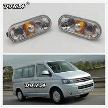 2 шт. для VW Transporter T5 T6 Multivan 2010 2011 2012 2013 2014 2015 Автомобиль-Стайлинг сторона Маркер поворотов свет лампы повторителя