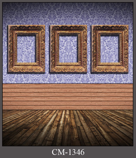 Golden photo frame on wall photo background vinyl story telling photography backdrops for photo studio  backgrounds CM-1346 shengyongbao 300cm 200cm vinyl custom photography backdrops brick wall theme photo studio props photography background brw 12
