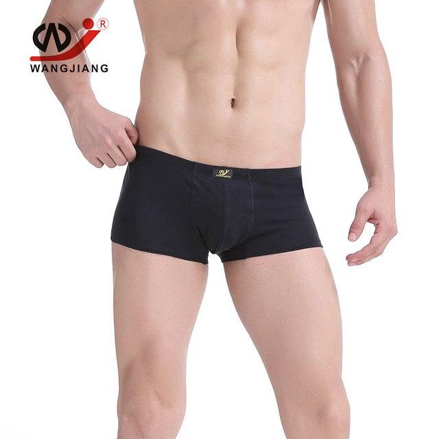 Boxers homens sexy gay underwear wj 4 par pene bolsa masculino underwear homme abierta spandex jockstrap gay cueca boxer ropa Interior