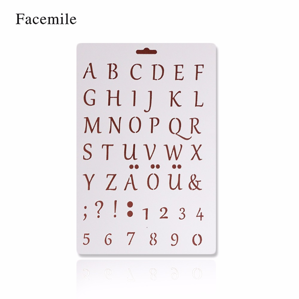 Facemile bakeware baking kitchen accessories numeral for Kitchen set letter l
