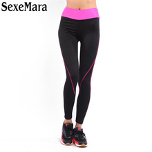 Women Sexy Sporting Leggings Fashion Bodybuilding Trousers Elastic Slim Four Seasons Leggings Fitness Workout Trousers 9QR478