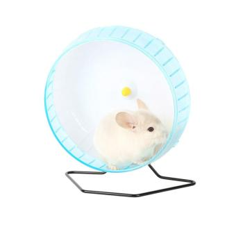 Adeeing 30CM Cute Sports Toy Stable Exercise Wheel Roller Toy for Hedgehog Hamster Rabbit Pets Supplies