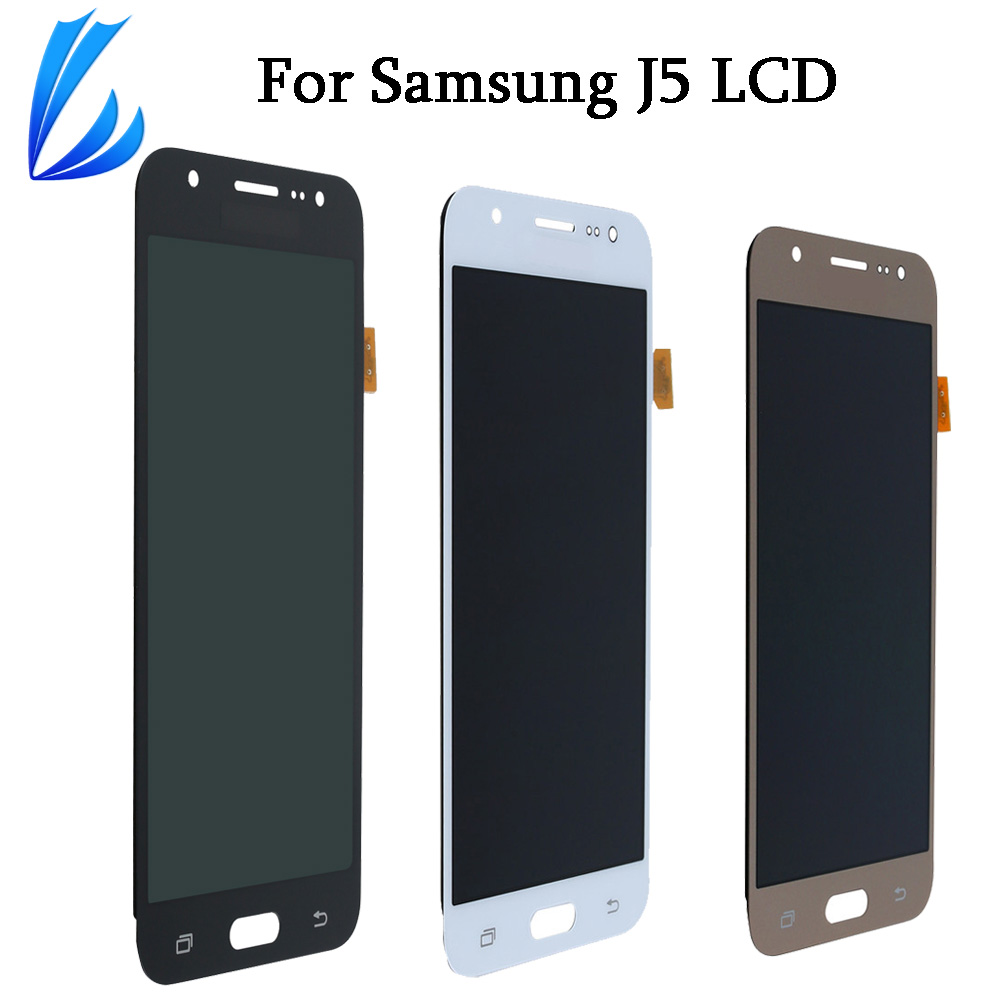 LL TRADER Top AAA For Galaxy J5 LCD <font><b>Display</b></font> For Samsung Galaxy J5 <font><b>J500</b></font> Touch Screen LCD Replacement Digitizer Assembly+Tools image