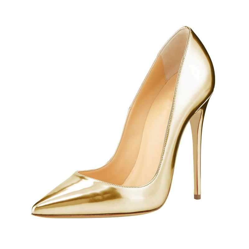 Size 34-46 Extreme High Thin Heels Pump 2017 Sexy Pointed Toe Pumps Sliver Genuine Leather Wedding Ladies Shoes Women SR-B0005 luxury shoes women sliver wedding shoes pumps pointed toe gold party extreme high heels bling silver evening ladies shoes 8 6005
