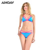 New Arrival Ladies Sexy Mini Bikini Set Push Up Halter Swimwear Women Swimsuit Summer Beach Wear