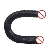 Realistic Penis Big Double Dildo Cock Strapon G spot Orgasm Anal Plug Sex Toys Women Female Masturbator Consolador Para Mujer