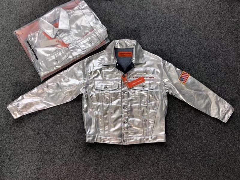 Qualité Manches Mince Haute Streetwear 1 Zipper Preston Denim Vestes Jean Espace 1 Heron 1 ZilPXwTkOu