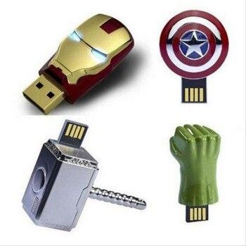 INCIPIENT Prawdziwa Pojemność Pendrive USB Flash Drive 128 GB Pen Drive Cudem Super Hero Style 8 GB 16 GB 32 GB 64 GB usb 2.0 Memory Stick