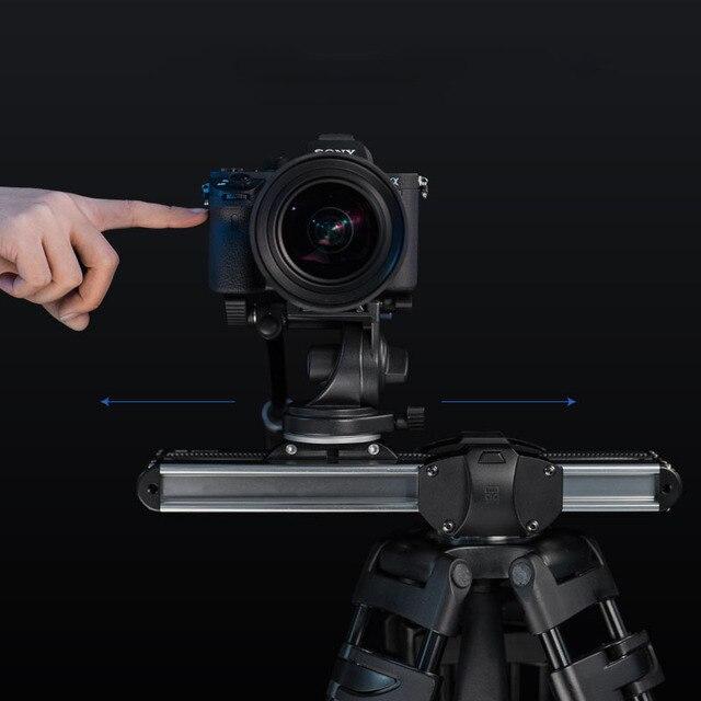 מיקרו 2 מצלמה מחוון מיני רכבת מסלול מערכת וידאו Slider עבור Canon סוני ניקון Panasonic DSLR מצלמה Iphone טלפון חכם ARRI דקות