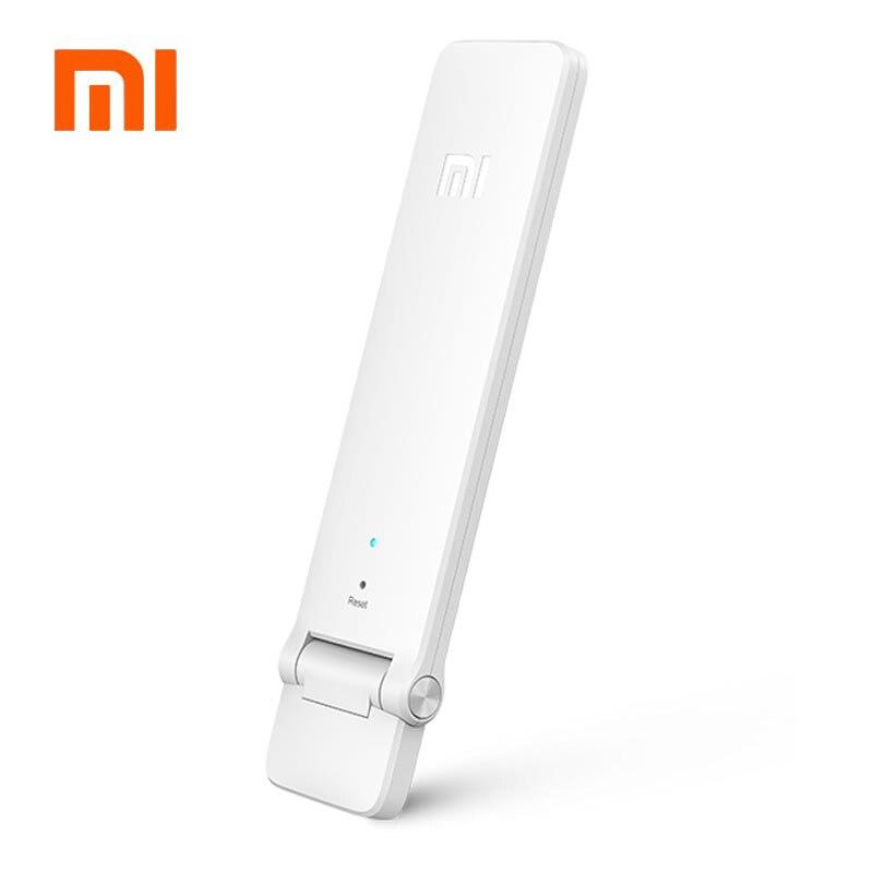 100% Original Xiaomi Mi WIFI repetidor 2 amplificador extensor 2 potenciadores de señal WiFi inalámbrico Universal Router Xiaomi Mijia Smart H