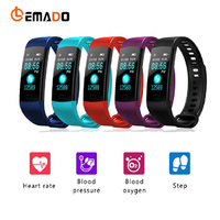 C1 Plus Color Screen Smart Bracelet Blood Pressure CK18