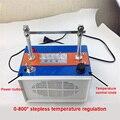 RQ3 горячая машина для резки высокого качества бесступенчатый термостат Электрический ленточный станок для резки 220 в 120 Вт 0-800 градусов горя...