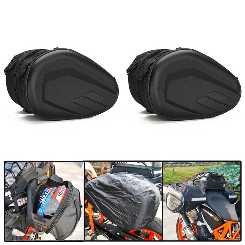все цены на Oxford Motorcycle Tail Luggage Suitcase Saddle Bag Motorcycle Side Helmet Riding Travel Bags Motor Trunk